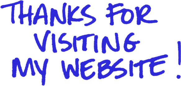 Thanks for visiting my website